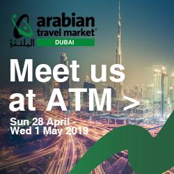 Meet us at the Arabian Travel Market