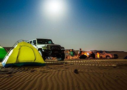 Private Liwa Overnight Desert Safari