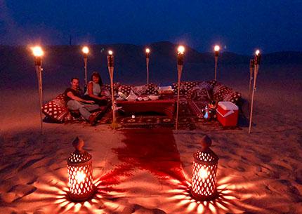 Private Sunset Dune Dinner