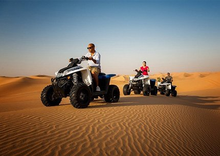 Quad Bike with Evening Desert Dinner