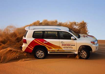 Half Day Desert Safari Abu Dhabi