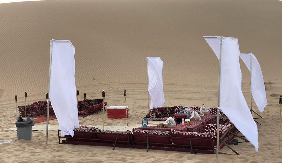 Private Sunset Dune Dinner Abu Dhabi